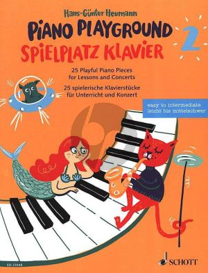 Heumann Piano Playground Band 2 (25 Playful Piano Pieces for Lessons and Concerts)