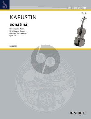 Sonatina Op.158 Viola-Piano