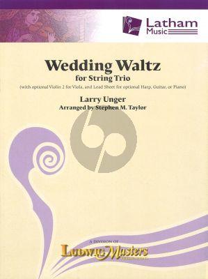Larry Unger Wedding Waltz for String Trio