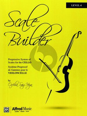 Scale Builder for Cello Level 4
