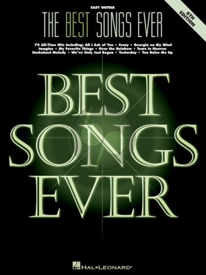The Best Songs Ever for Guitar (6th. edition)