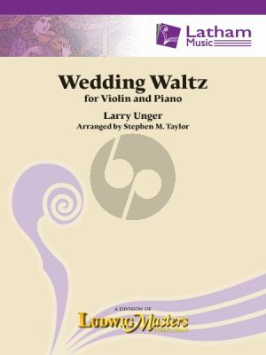 Unger Wedding Waltz for Violin and Piano