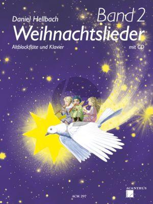 Weihnachtslieder Vol.2 Altblockflote - Klavier mit CD