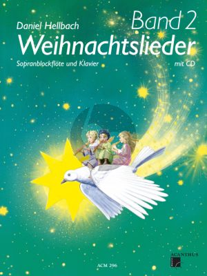 Hellbach Weihnachtslieder Vol.2 Sopranblockflöte - Klavier (Bk-Cd)