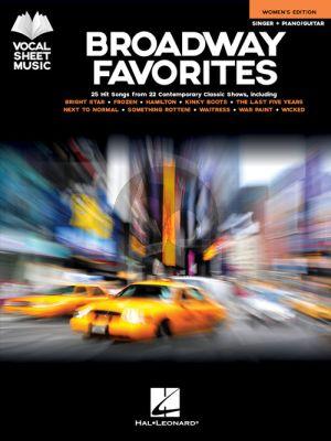 Broadway Favorites – Women's Edition (Singer-Piano/Guitar)