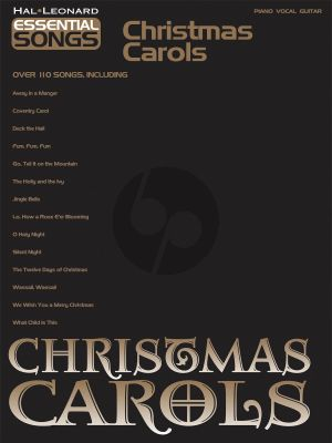 Essential Songs: Christmas Carols (Piano-Vocal-Guitar)