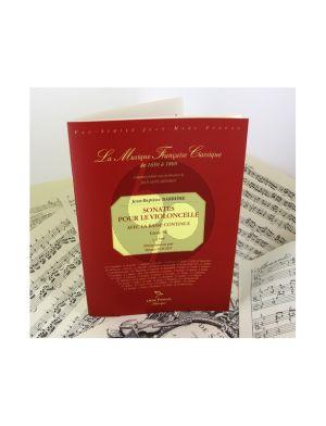 Barriere Sonates Livre 4 Violoncelle et Bc (facs.)