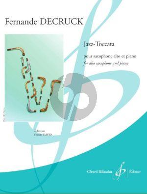 Jazz-Toccata Alto Saxophone-Piano
