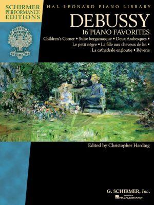 Debussy - 16 Piano Favorites (edited by Christopher Harding)