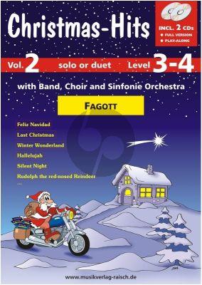 Christmas Hits Vol. 2 Fagott (Buch mit 2 CD's)