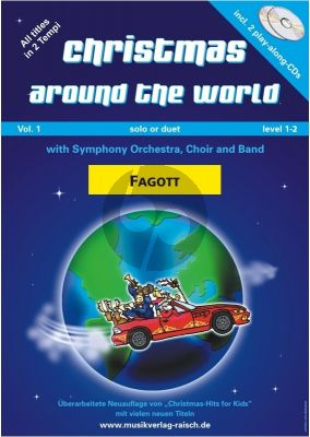 Christmas around the World für Fagott (Buch mit 2 CD's)