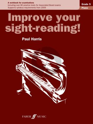 Harris Improve your Sight-Reading Piano Grade 5 (A Workbook for Examinations)