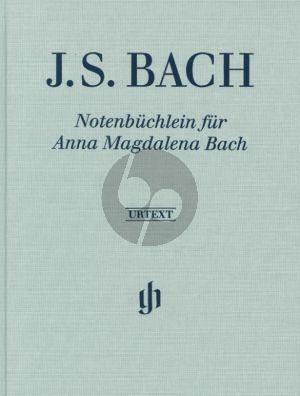 Bach Notenbuchlein für Anna Magdalena Bach 1725 (Ernst-Günter Heinemann (Editor) Hans-Martin Theopold (Fingering) Siegfried Petrenz (Figured bass realisation)) (Henle Urtext Leinen (Hardcover) Edition)