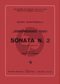 Santorsola Sonata No. 2 2 Guitars (Sonoridades 1969) (edited by Sergio Abreu)
