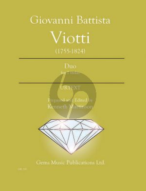 Viotti Duo pour 2 Violas (Prepared and Edited by Kenneth Martinson) (Urtext)