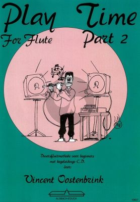 Oostenbrink Play Time for Flute Vol.2 (Boek-Cd)