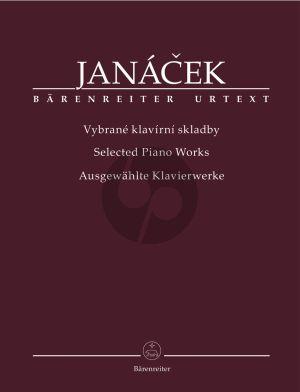 Janacek Selected Piano Works (edited by Ondrej Pivoda) (Barenreiter-Urtext)