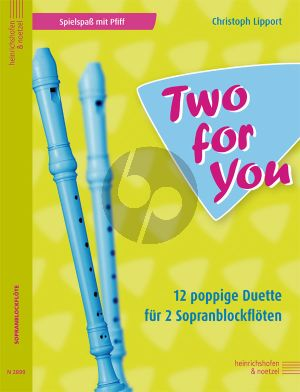 Lipport Two For You 2 Sopranblockfloten