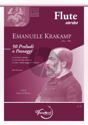 Krakamp 50 Preludi o Passaggi Flute solo (Carlo De Matola)