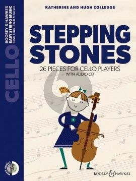 Stepping Stones Cello with Audio CD