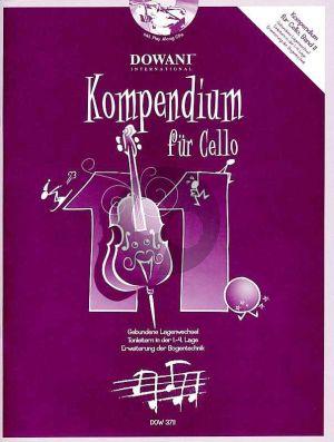 Kompendium für Cello Vol. 11 (Buch mit 2 CD's)