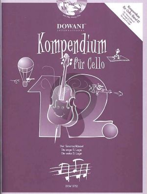 Kompendium für Cello Vol. 12 (Bk-Cd)
