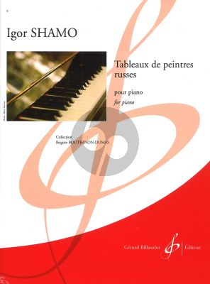 Shamo Tableaux de peintres russes pour Piano (Collection Brigitte Bouthinon-Dumas)