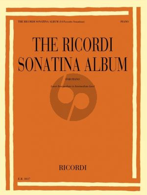 The Ricordi Sonatina Album for Piano