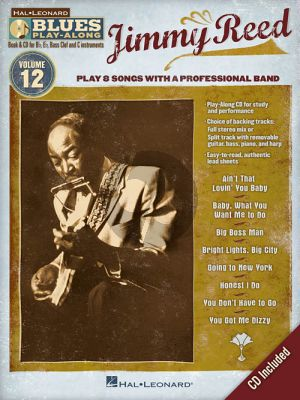 Reed Hal Leonard Blues Play-Along Volume 12 Book & Audio Online (All C-Bb-Eb and Bass Clef Instr.) (BK-CD)