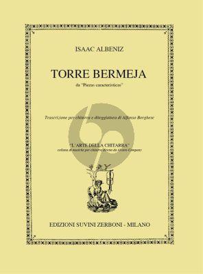 Albeniz Torre Bermeja Guitar (from 12 Piezas Caracteristicas) (Alfonso Borghese)