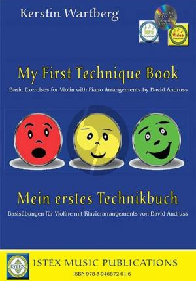 Wartberg Mein erstes Technikbuch Violine (mit Klavier) (Buch mit CD und Audio online)