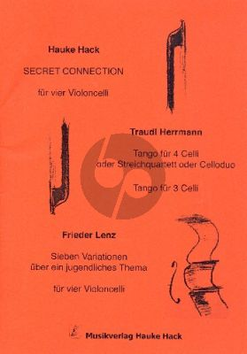 Secret Connection für 2 - 4 Violoncelli (Part./Stimmen)