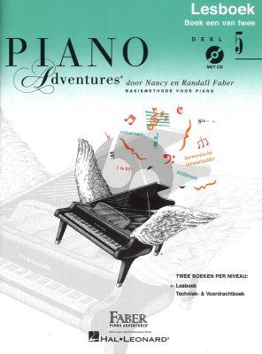 Faber Piano Adventures Lesboek 5 Bk-Cd Nederlandse editie
