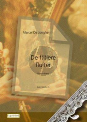 Jonghe De f(l)iere fluiter Fluit of Altblokfluit met Piano