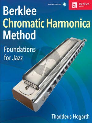 Hogarth Berklee Method for Chromatic Harmonica (Foundations for Jazz) (Book with Audio online)