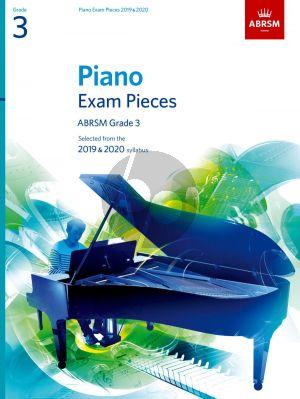 Piano Exam Pieces 2019 & 2020 Grade 3