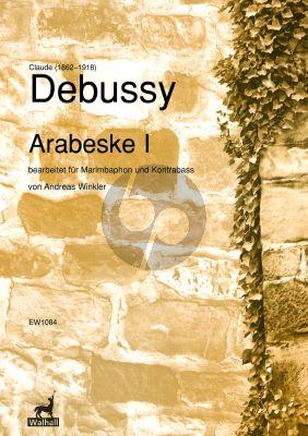 Debussy Arabeske 1 Double Bass and Marimbaphon