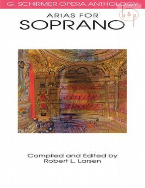 Opera Anthology Arias for Soprano
