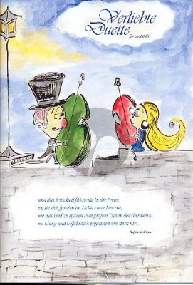 Verliebte Duette vol.1 2 celli