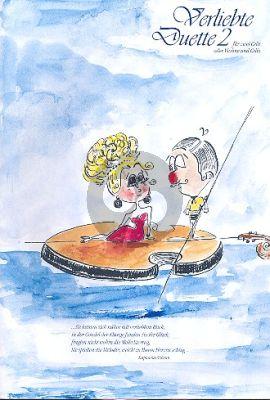 Verliebte Duette Band 2 2 Violoncellos (oder Violine und Violoncello) (arr. Norbert Studnitzky)