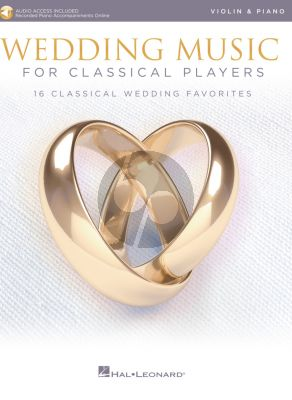 Wedding Music for Classical Players – Violin and Piano