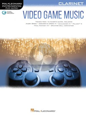 Video Game Music for Clarinet (Hal Leonard Instrumental Play-Along) (Book with Audio online)