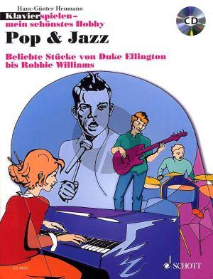 Album Pop & Jazz (Buch mit Cd) (Beliebte Stücke von Duke Ellington bis Robbie Williams) (Herausgegeben von Hans Gunther Heumann)