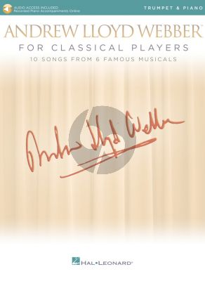 Andrew Lloyd Webber for Classical Players – Trumpet and Piano