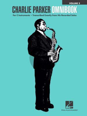Charlie Parker Omnibook 2 for all C Instruments