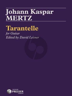 Mertz Tarantelle for Guitar (edited by David Leisner)