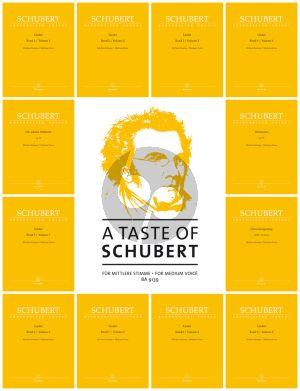 A Taste of Schubert for Medium Voice (Walther Dürr)