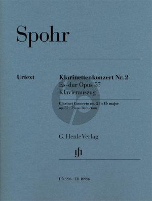Spohr Konzert No.2 Es-dur Op.57 Klarinette-Orchester (KA) (Ullrich Scheideler)