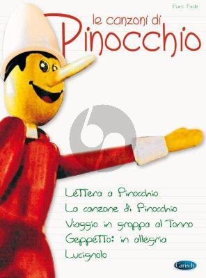 Le Canzoni di Pinocchio Piano solo