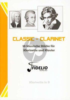 Album Classic Clarinet for Clarinet in Bb and Piano (10 klassische Stücke) (arr. von Benedikt Lorse)